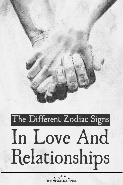 The Different Zodiac Signs In Love And Relationships