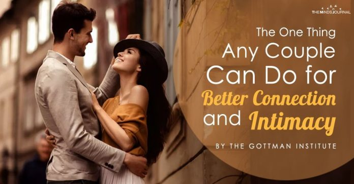 The One Thing Any Couple Can Do for Better Connection and Intimacy
