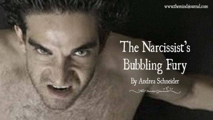 A Volcanic Eruption Of Apocalyptic Proportions: The Narcissist's Bubbling Fury