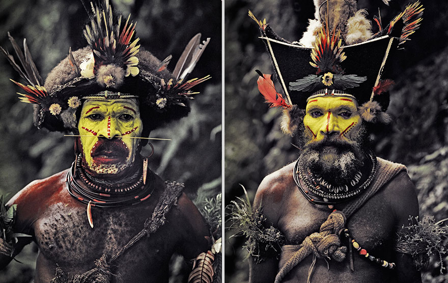 Stunning Portraits Of The World's Remotest Tribes 9