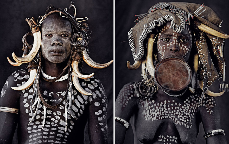 Stunning Portraits Of The World's Remotest Tribes 36