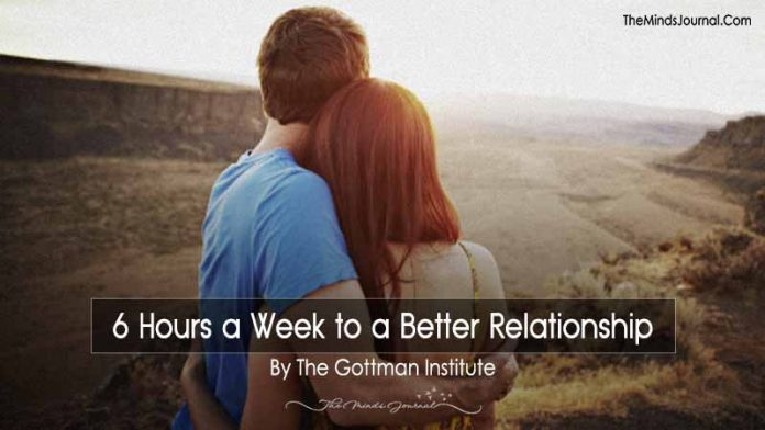 6 Hours a Week to a Better Relationship