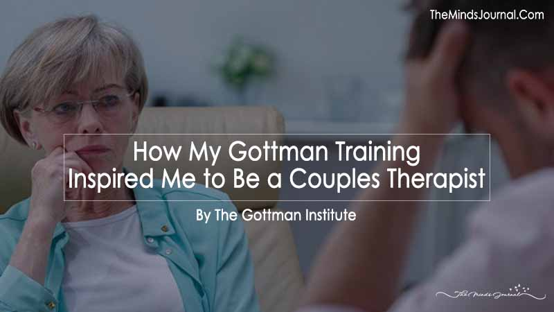 How My Gottman Training Inspired Me to Be a Couples Therapist