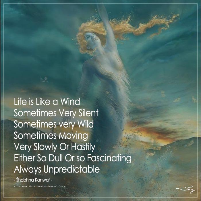 Life is Like a Wind
