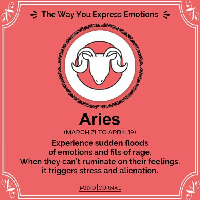 Express Emotions aries