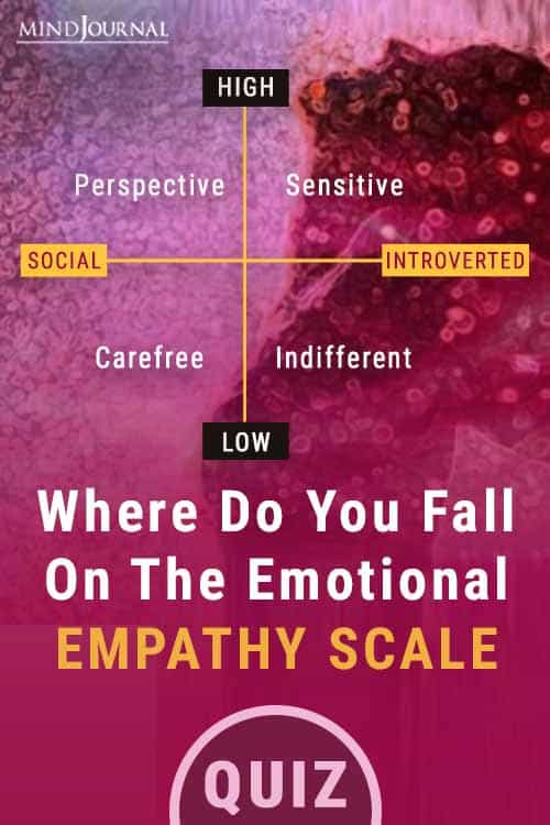 Fall On Emotional Empathy Scale Pin