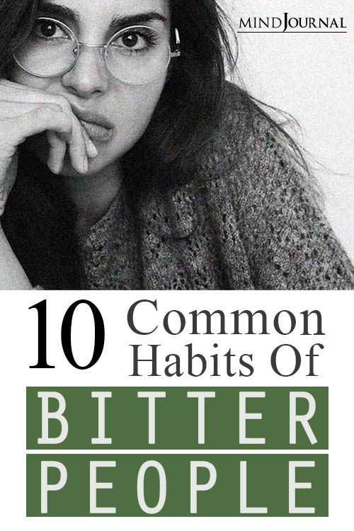 Habits of Bitter People Avoid Them pin