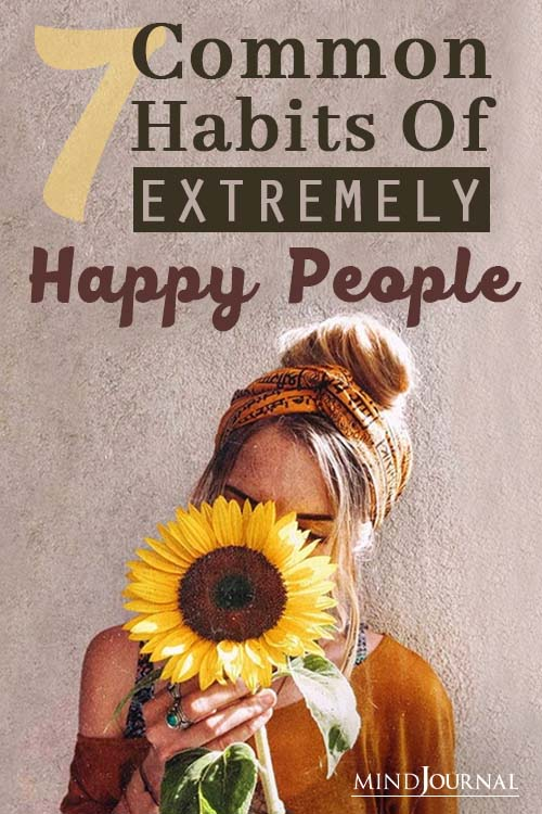 Habits of Extremely Happy People Pin