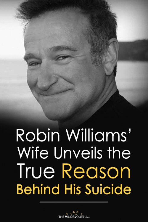 Robin Williams' Wife Unveils the True Reason Behind His Suicide
