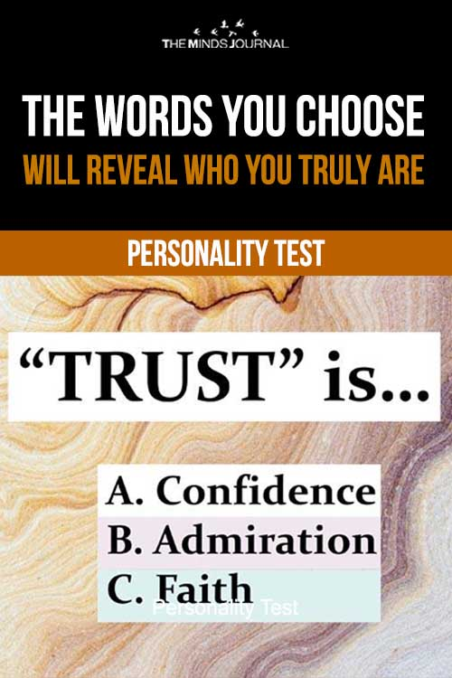 The Words You Choose Will Reveal Who You Truly Are