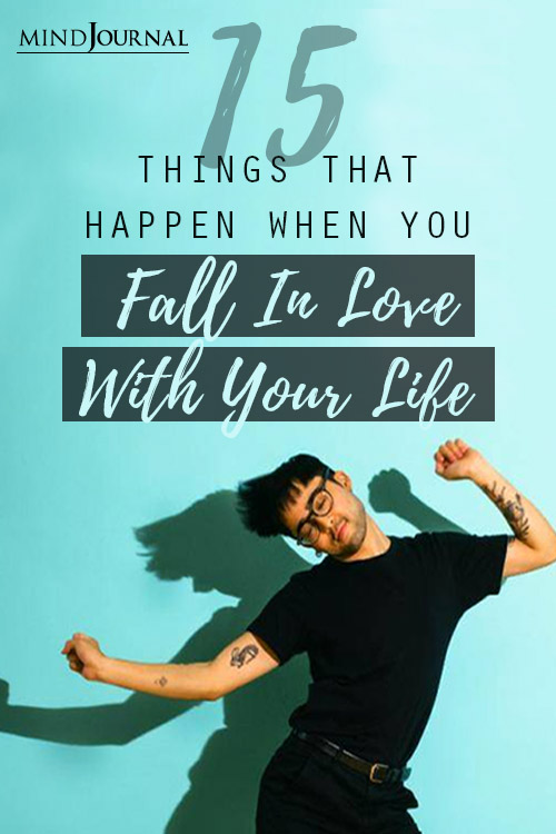 Things When You Fall In Love with Your Life Pin