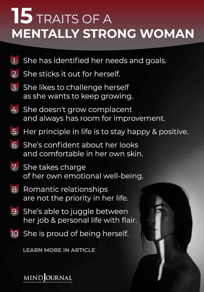 Traits of Mentally Strong Woman