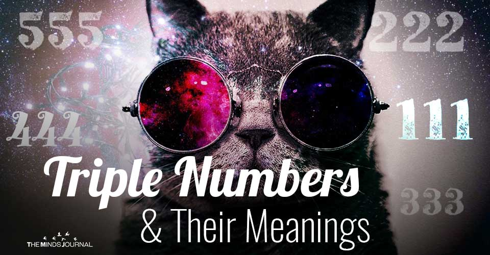 Triple Numbers and Their Meanings: 111, 222, 333, 444, 555