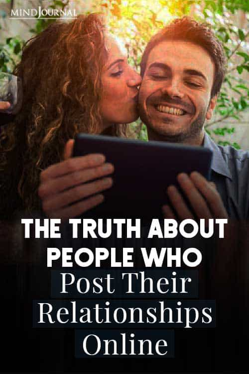 Truth About People Post Relationships Online Pin