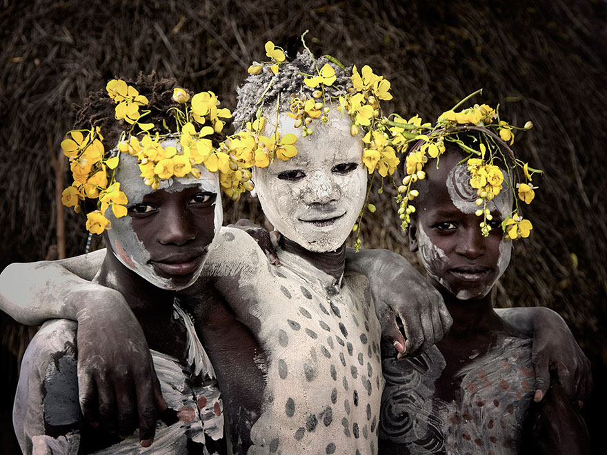 Stunning Portraits Of The World's Remotest Tribes 41