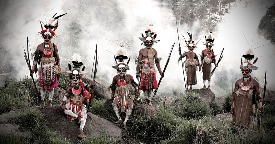 Stunning Portraits Of The World's Remotest Tribes 12