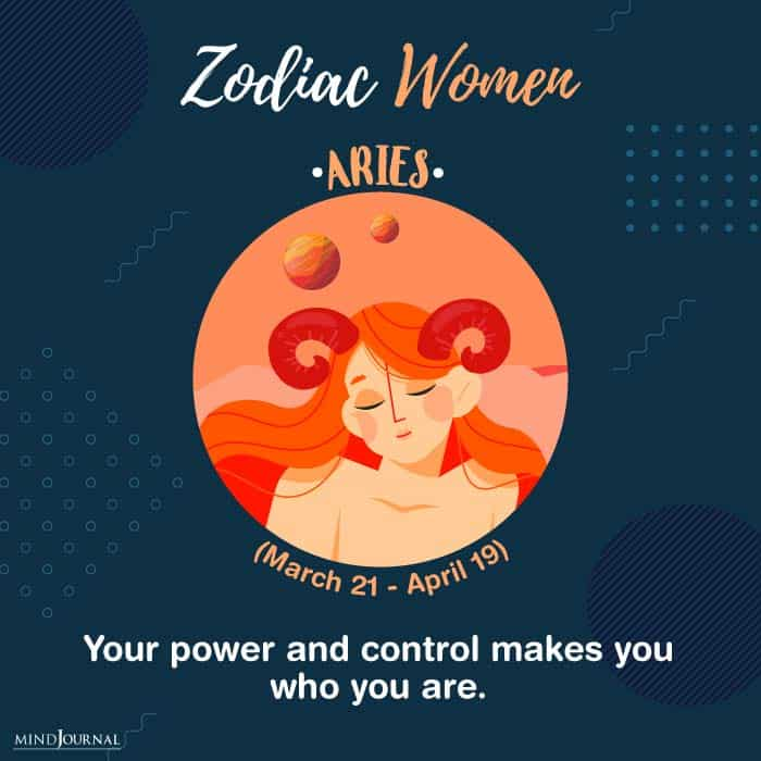 kind of woman you zodiac sign aries