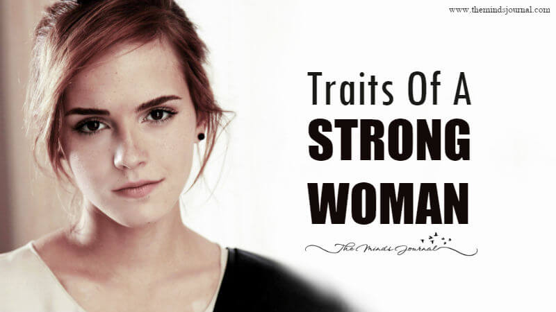 15 Traits of A Strong Woman