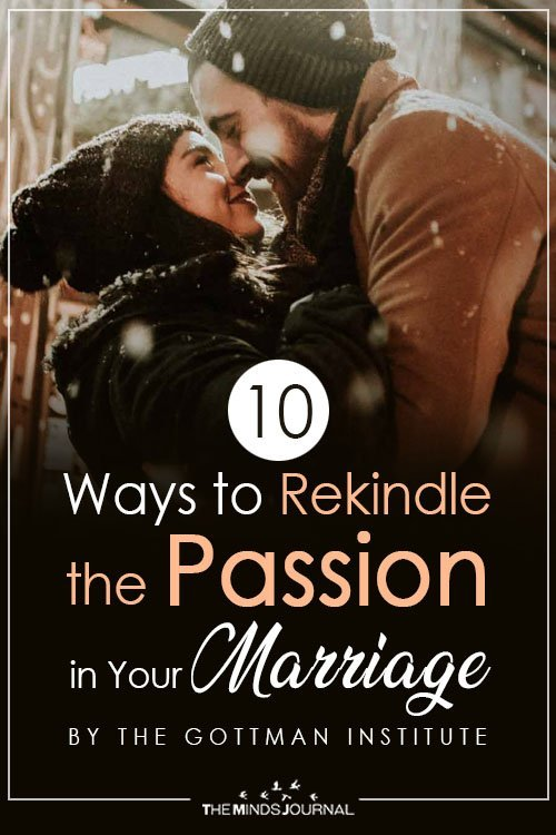 Ways to Rekindle the Passion in Your Marriage