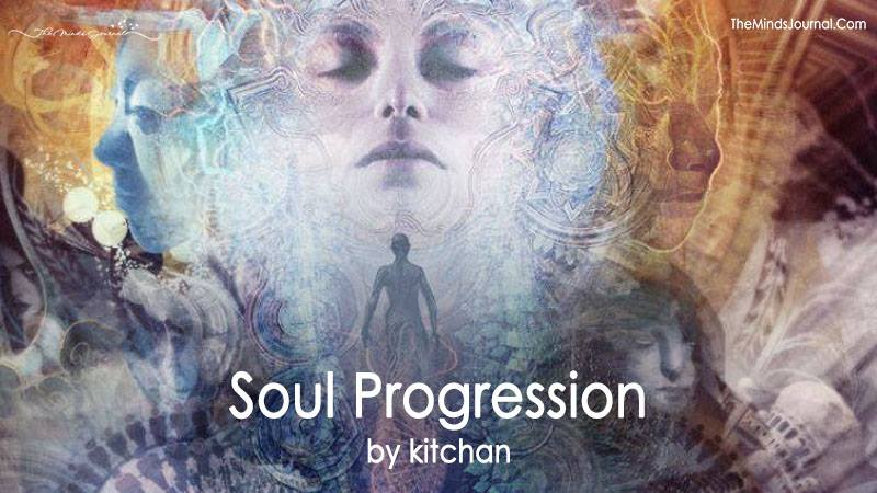 Soul's Progression By Raising Our Level Of Consciousness