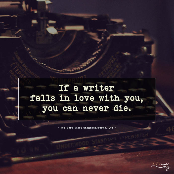 If A Writer Falls In Love With You