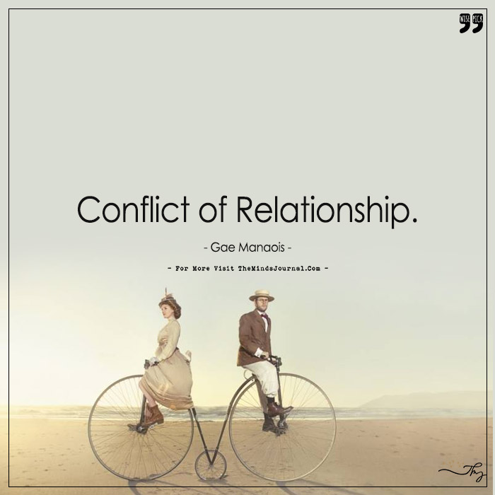 Conflict Of Relationship