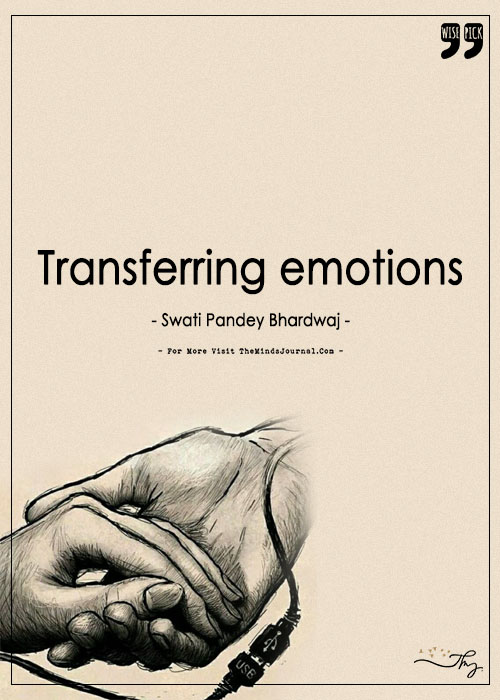 Transferring Emotions, Uploading Compassion