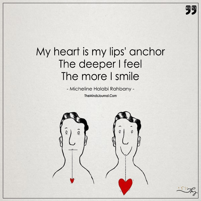 My Heart Is My Lips' Anchor