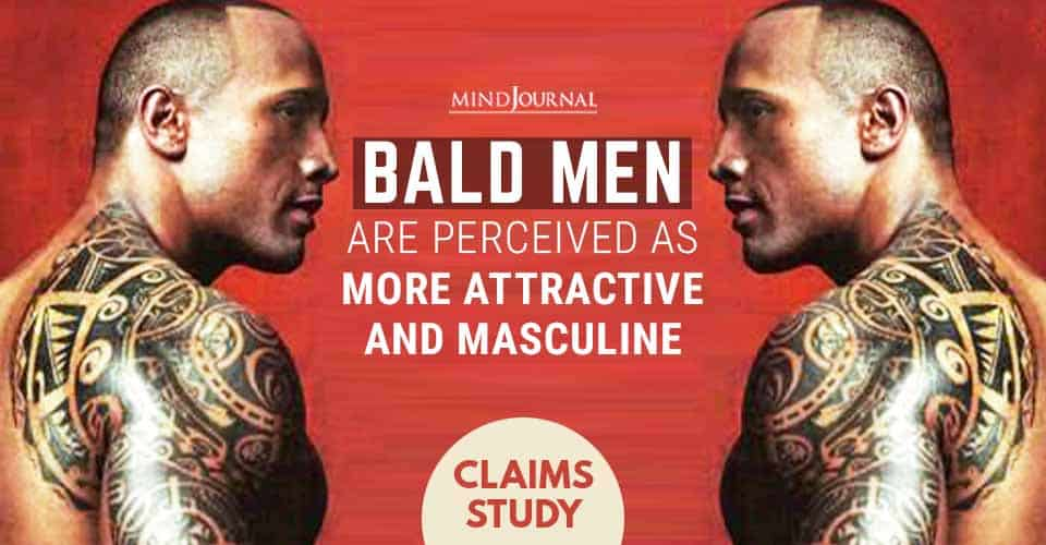 Bald Men Perceived Attractive and Masculine, Claims Study