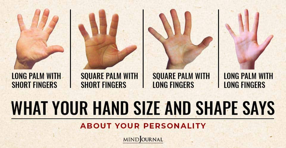 Hand Size Shape About Personality