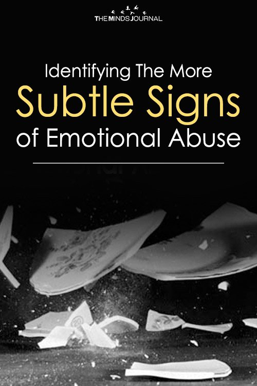 Identifying The More Subtle Signs of Emotional Abuse