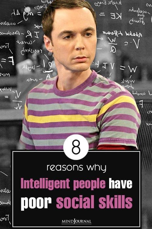 Reasons Intelligent People Poor Social Skills pin