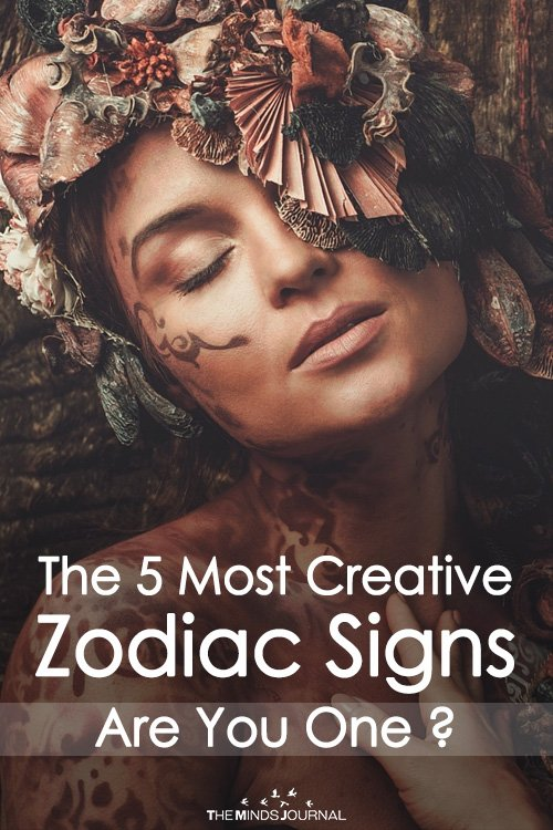 The 5 Most Creative Zodiac Signs - Are You One ?