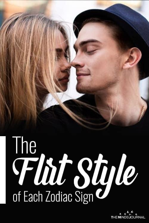 Flirt Style of each zodiac