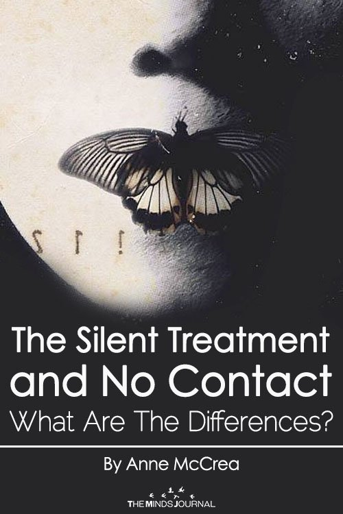 The Silent Treatment and No Contact.... What Are The Differences?