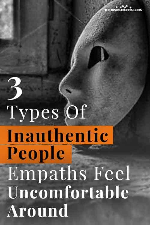 Types Of Inauthentic People Empaths Pin