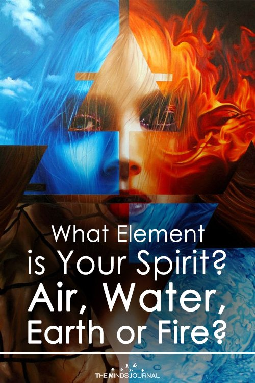 What Element is Your Spirit Air, Water, Earth or Fire