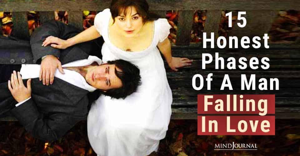 Honest Phases Man Falling Love