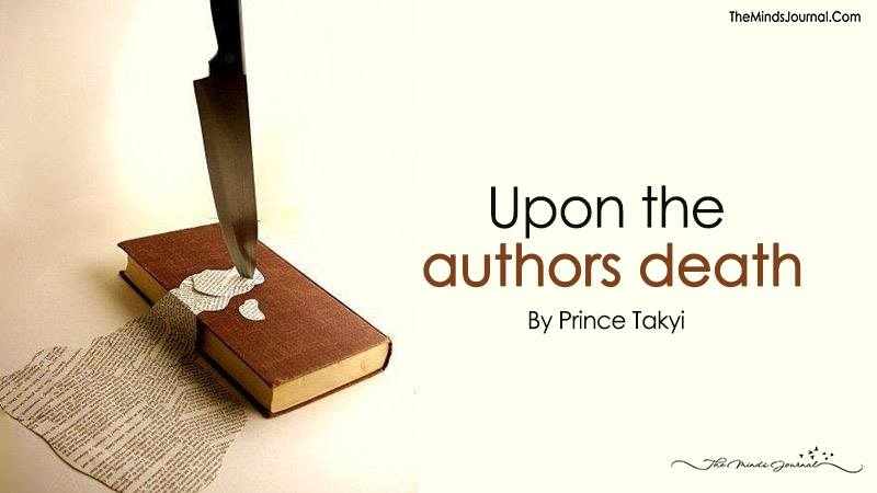 Upon The Authors Death