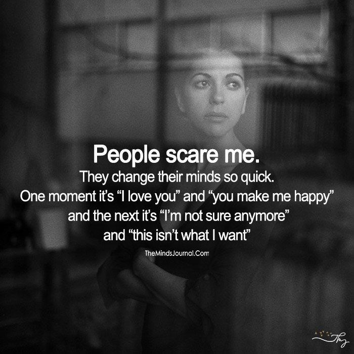 People Scare Me