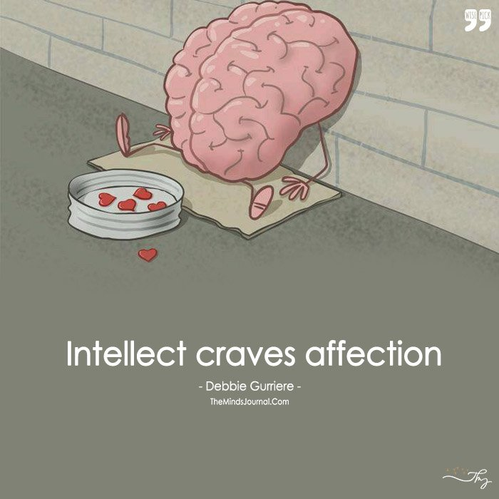 Intellect Craves Affection