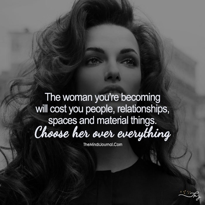 Choose Her Over Everything!