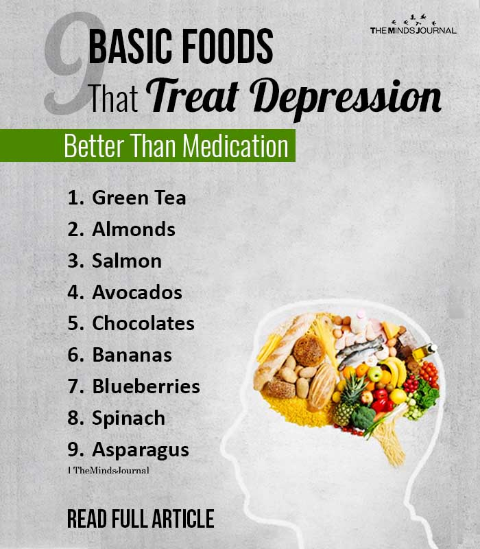 Basic Foods That Treat Depression Better Than Medication