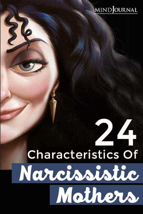 Characteristics of Narcissistic Mothers Pin