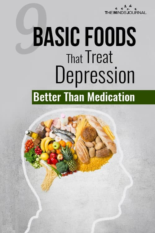Foods That Treat Depression Better Than Medication pin