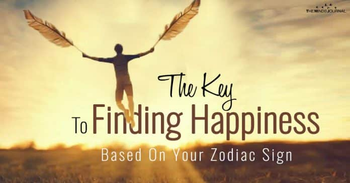The Key To Finding Happiness Based On Your Zodiac Sign