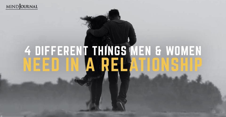 Things Men Women Need Relationship