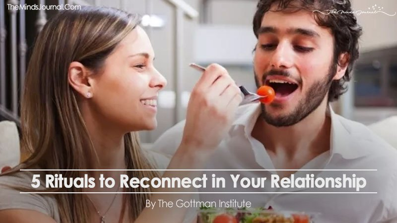 5 Rituals to Reconnect in Your Relationship