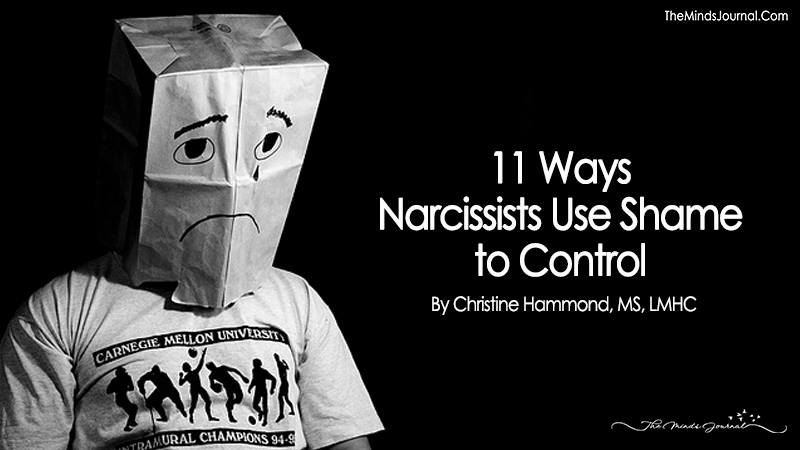 11 Ways Narcissists Use Shame to Control