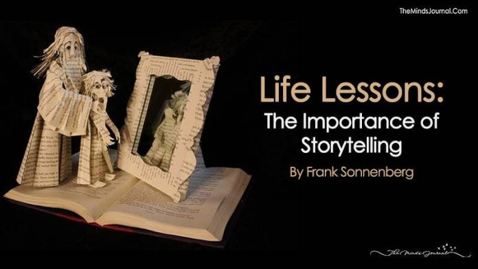Life Lessons: The Importance of Storytelling